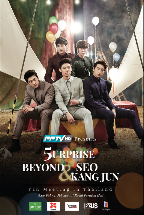 5urprise Beyond & Seo Kang Jun Fan Meeting in Thailand