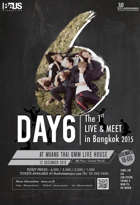 DAY6 The 1st Live & Meet in Bangkok 2015