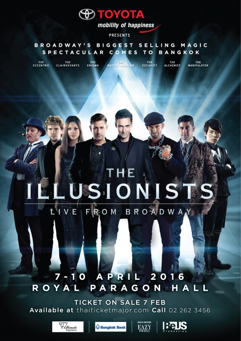 TOYOTA Presents The Illusionists – Live From Broadway, Bangkok 2016
