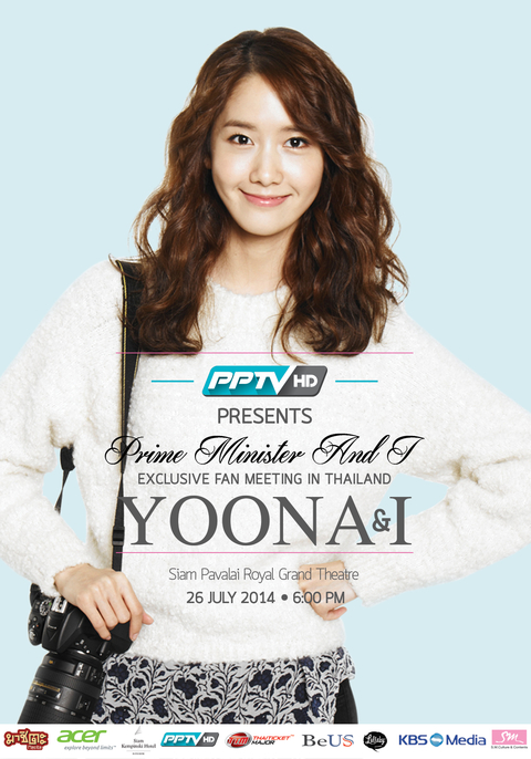 Prime Minister And I EXCLUSIVE FAN MEETING IN THAILAND YOONA & I